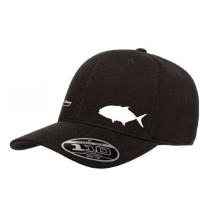 Black Golden Trevally Flexfit Tech Cap