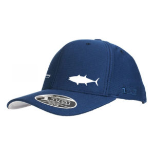 Blue Longtail Tuna Flexfit Tech Cap