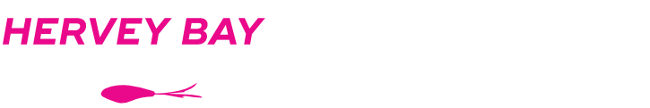 Hervey Bay Fly and Sportfishing logo white