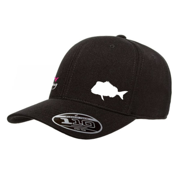 Hervey Bay Fly and Sportfishing Black Snapper hat