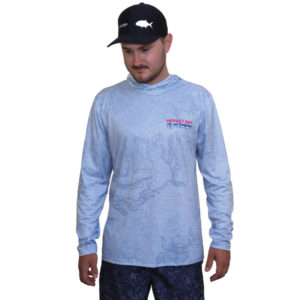 switch bait performance hoodie front