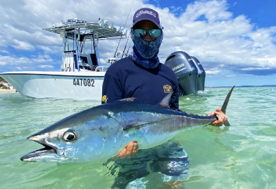 longtail tuna fun on the waters of the fraser coast - fishing charters hervey bay